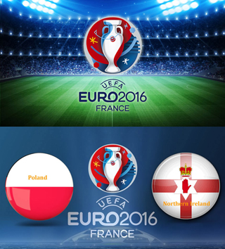 Uefa Euro 2016 Group C Poland Vs Northern Ireland