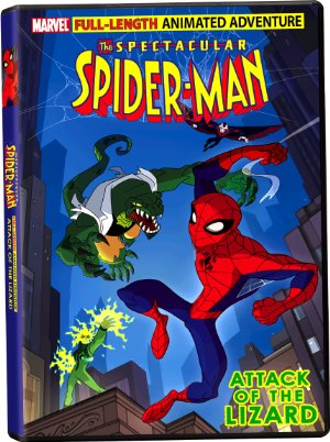 The Spectacular Spider-man: Attack Of The Lizard