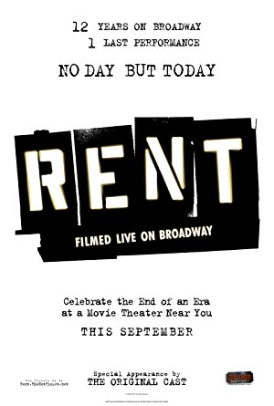 Rent: Filmed Live On Broadway