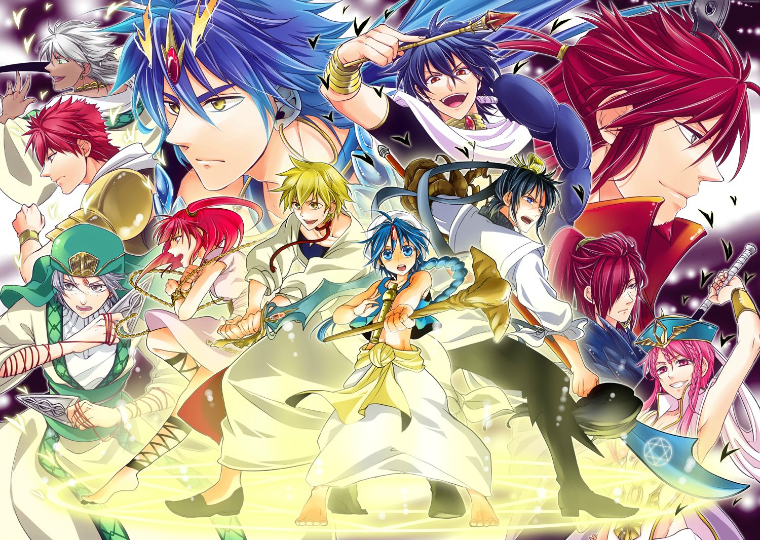 Magi: The Labyrinth Of Magic: Season 1
