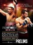 Ufc Fight Night 41: Munoz Vs. Mousasi Prelims